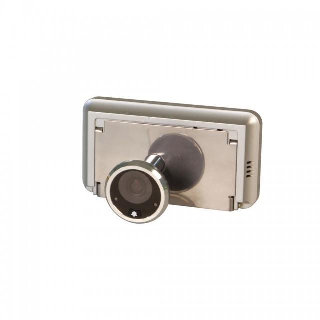 DIGITAL DOOR VIEWER 40-70 NICKEL